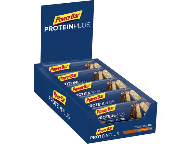 PowerBar ProteinPlus 33% Bar Box 10x90g, Chocolate-Peanut